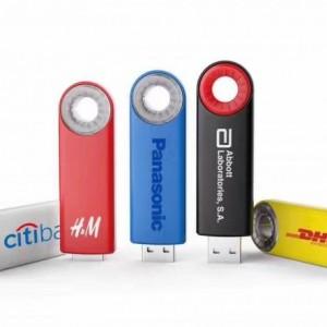 แฟลชไดร์ฟพลาสติก USB042