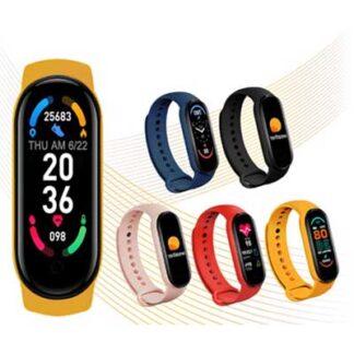 นาฬิกาสมาร์ทวอทช์ เพื่อสุขภาพ นาฬิกาออกกำลังกาย อัจฉริยะ M6 SW006